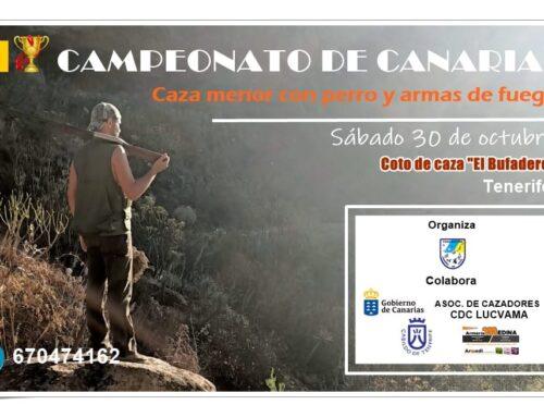 La Sociedad de Cazadores de La Aldea participará en el Campeonato de Canarias de Caza Menor