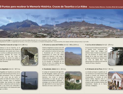 La Concejalía de Cultura presenta la ruta cultural 'Cruces y calvarios de Tasartico a La Aldea' para los amantes del senderismo