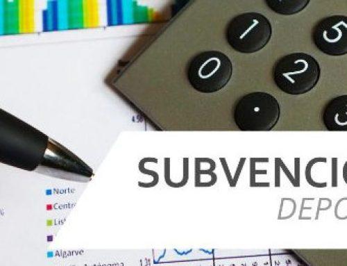 SUBVENCIONES PARA CLUBES DEPORTIVOS