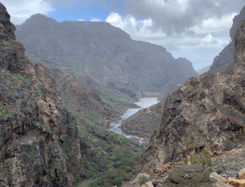 Las presas de La Aldea acumulan el 70% de su capacidad total