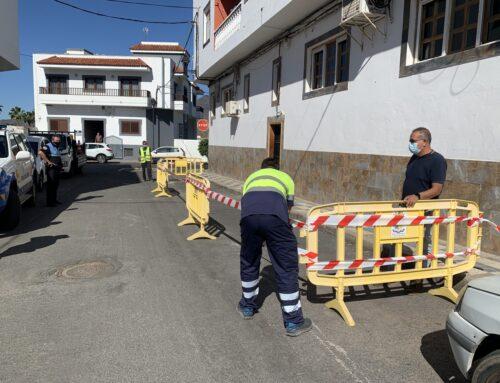 El Ayuntamiento de La Aldea instala terrazas provisionales a los establecimientos que las han solicitado