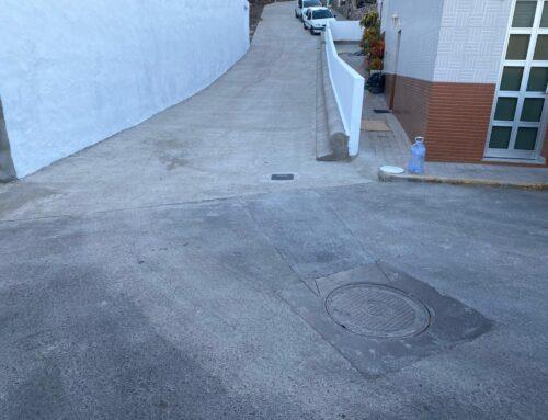 Finaliza la obra 'Rodonal Paseo de Los Espinos' para dar accesibilidad a la zona
