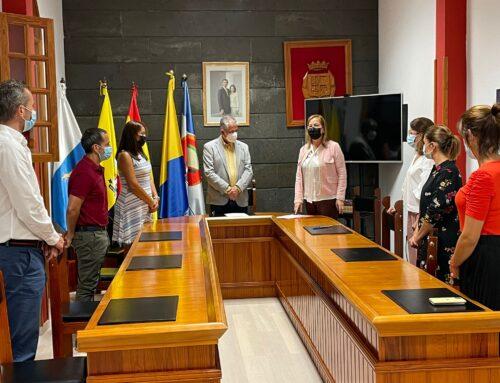 Rosa Nieves Godoy Llarena toma posesión como nueva secretaria del Ayuntamiento de La Aldea