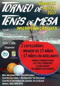TENIS DE MESA 12 AGST