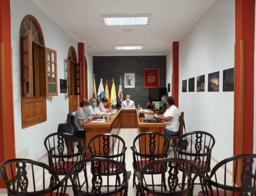 La Corporación municipal celebra la tercera reunión del Plan de Reactivación Económica del Municipio