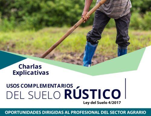 El Ayuntamiento promueve unas charlas sobre los usos complementarios del suelo rústico
