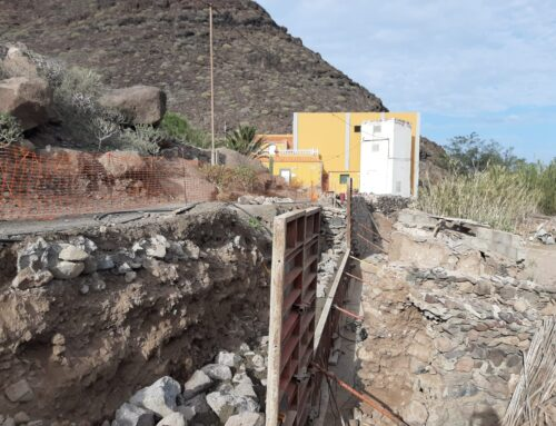 La obra del camino del Roque llega a su fase final