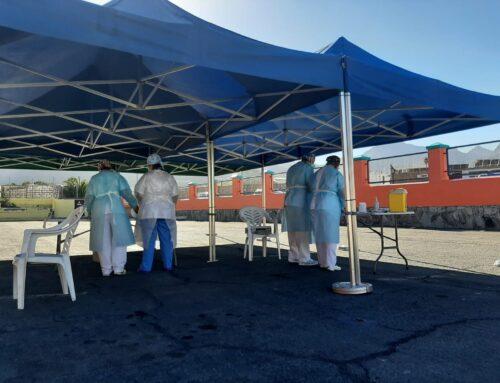 El Ayuntamiento cede el aparcamiento del pabellón municipal para realizar test PCR