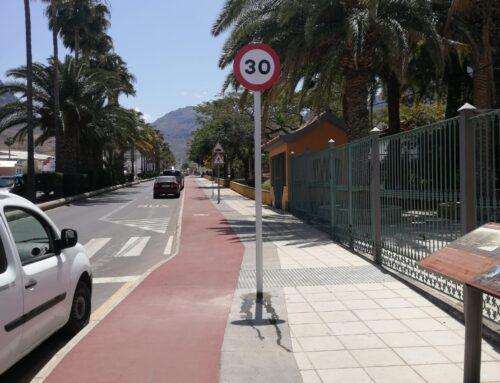 El Ayuntamiento adapta las vías a las nuevas normas de circulación que entran en vigor el 11 de mayo