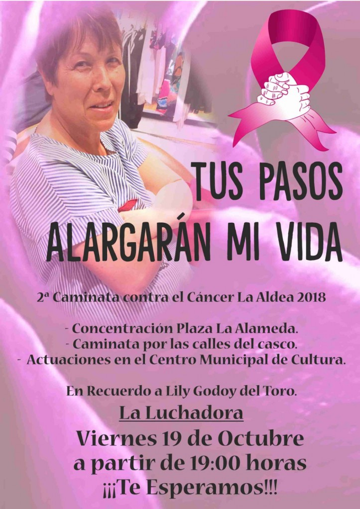 cartel marcha lily