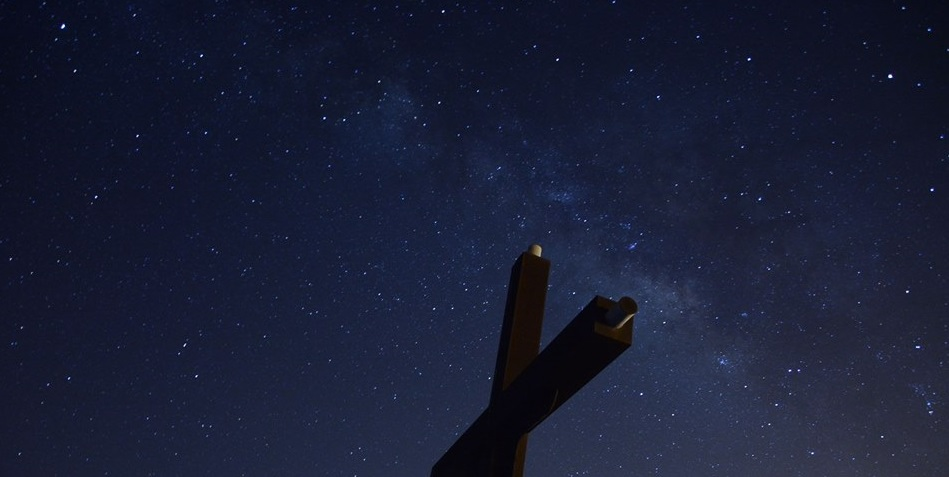 cielo estrellado en La Aldea