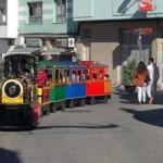 trenecito en las calles de El Casco