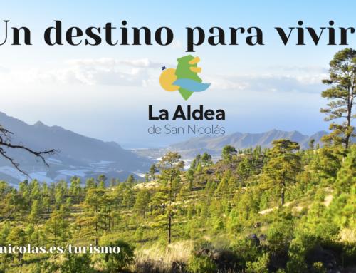 La Aldea de San Nicolás refuerza su imagen turística con la instalación de vallas publicitarias en diferentes enclaves de la Isla